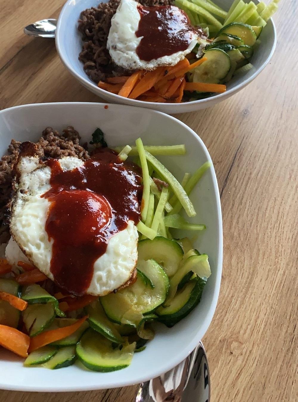 Bibimbap kuchnia koreańska