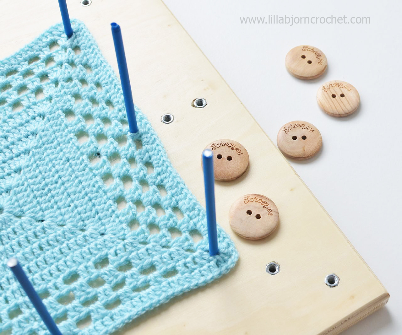 Crochet Blocking : ... to block crochet and knitted projects? LillaBj?rns Crochet World