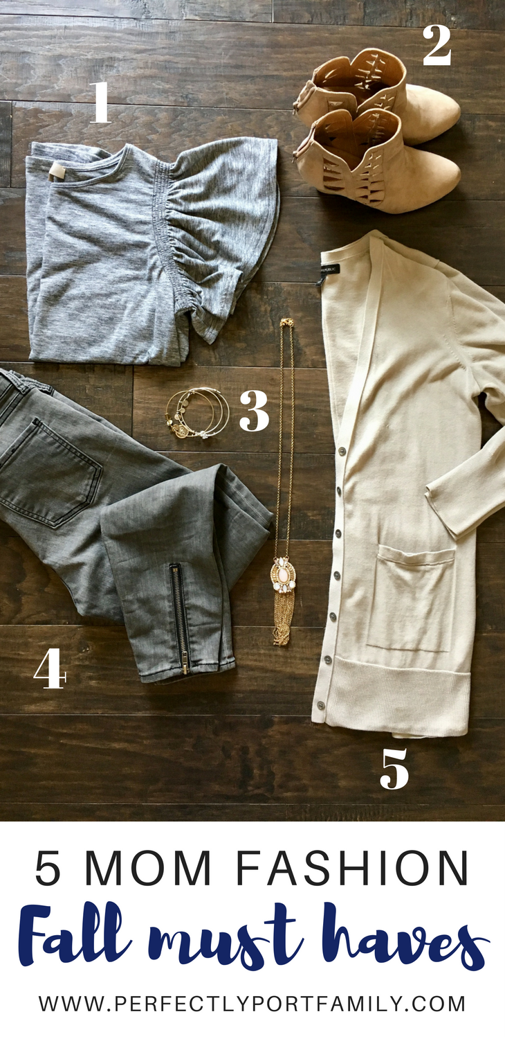 Perfectly Port: 5 Fall Mom Fashion Must Haves