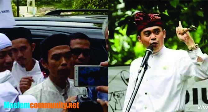 Provokator Penolak Ustadz Abul Somad Arya Wedakarna