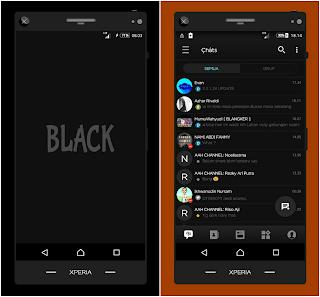BBM Black Versi 3.3.1.24 Apk