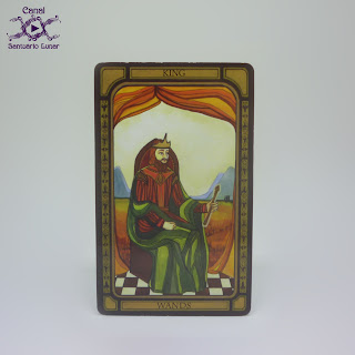 The Golden Tarot (CICO Books) - King of Wands