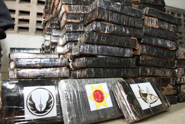 PM e PF fazem maior apreensão de cocaína da Bahia