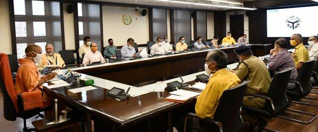 मुख्यमंत्री योगी ने चिकित्सा संस्थानों को वर्चुअल आई०सी०यू० के माध्यम से जोड़ने की कार्यवाही के निर्देश दिए