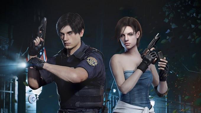 Resident Evil Leon e Jil