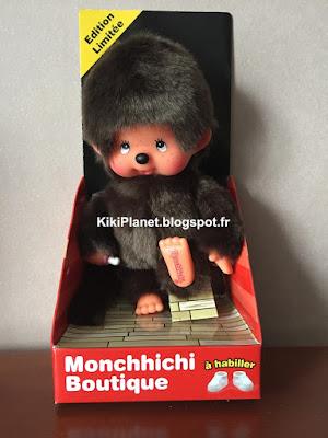 kiki Monchhichi boutique nu à habiller l'original édition limitée