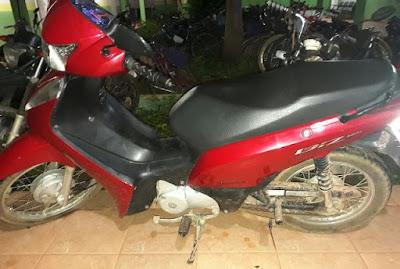 Motocicleta roubada em Guajará-Mirim é recuperada por policiais civis