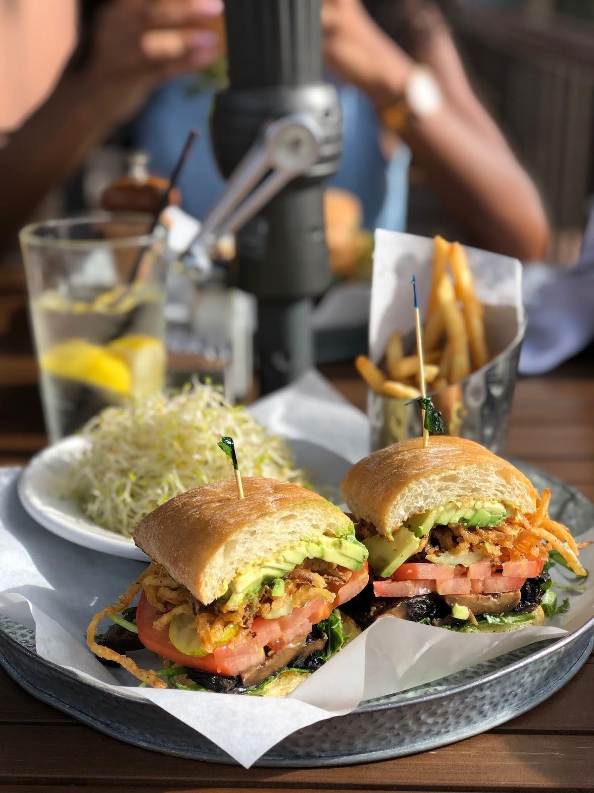 Best Places to eat in Arizona, Sedona, The Hudson, Portobello Mushroom Sandwich
