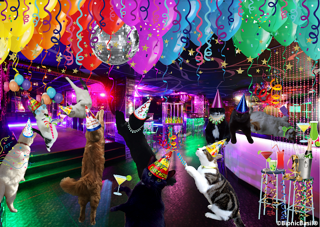 Parsley's Birthday Rave ©BionicBasil®