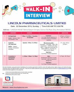 Lincoln pharma