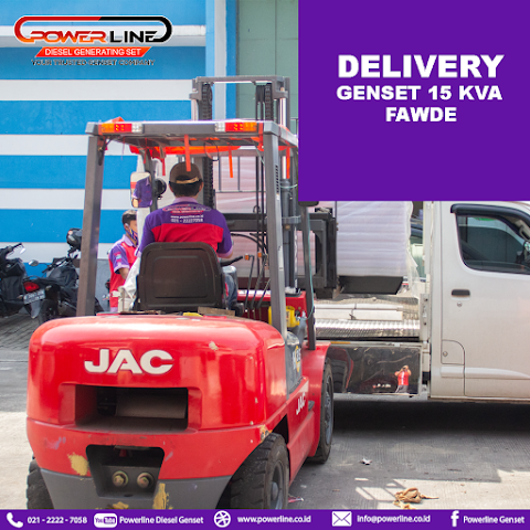 Delivery Genset 15 Kva Fawde
