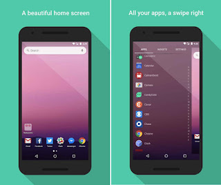 10 Launcher Android Paling Ringan,Terbaik dan Terkeren Saat Ini , evie launcher