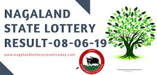 Nagaland Sambad Lottery Results 08-06-2019