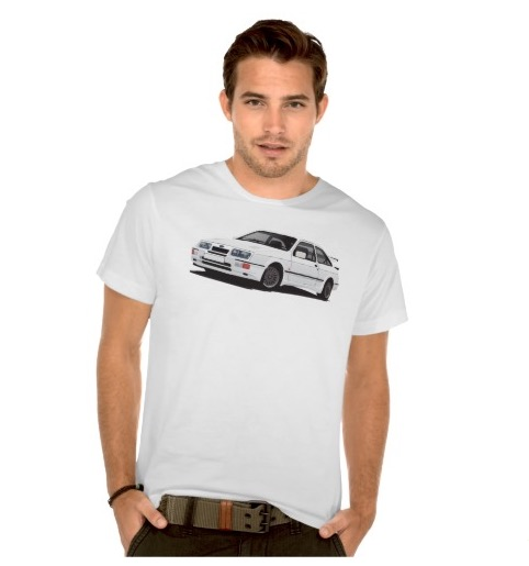 Ford Sierra RS Cowsorth  Zazzle t-shirt