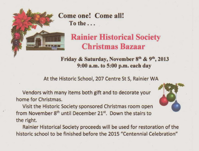 Rainier Lions Club Rainier Historical Society Christmas
