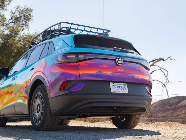 Volkswagen disputa Rebelle Rally só de mulheres com elétrico ID.4