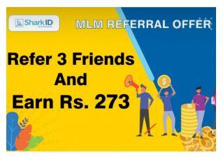 (Best लूट) SharkID App Loot – Refer 3 Friends & Earn ₹273 or ₹91/Referral