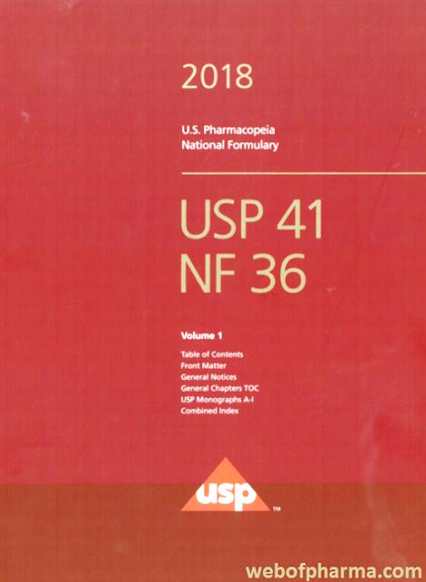 USP 41- NF 36