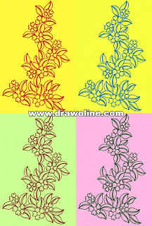 Awesome patterns for flowers Embroidery design, flower design drawing