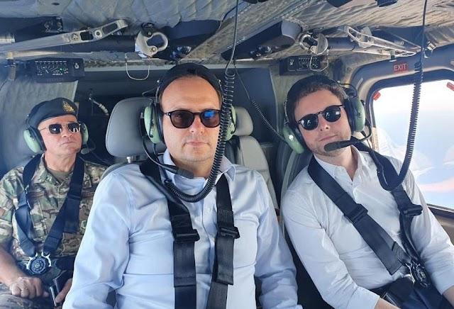 Κύπρος: Σθεναρή η στήριξη της Γαλλίας-Είδε από το ελικόπτερο τις τουρκικές ενέργειες ο Baune