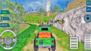 Offroad Mountain Jeep Fun Game