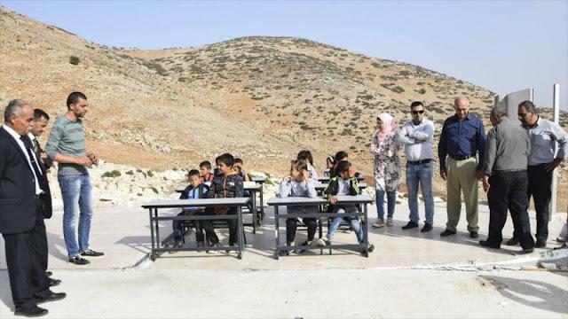 UE pide a Israel compensación para escuelas palestinas confiscadas