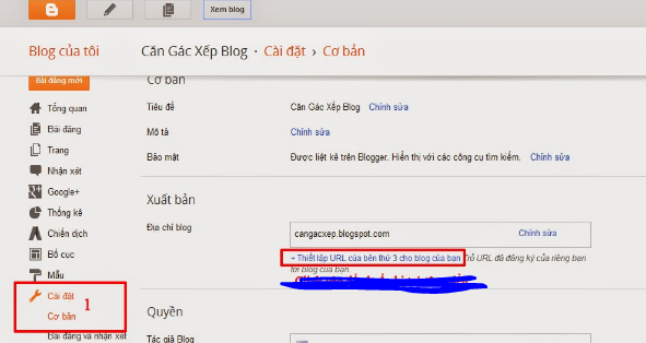 Create blogspot