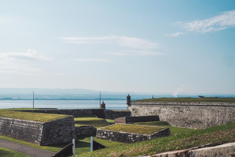 Voyage en Ecosse - Fort George dans les Highlands