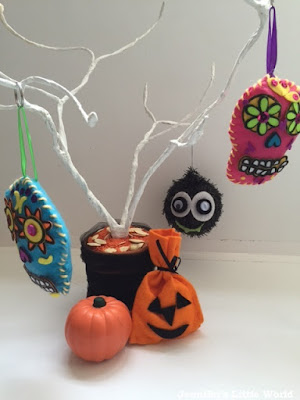 How to make a Halloween tree