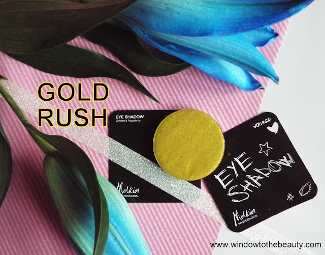 Melkior Gold Rush review and swatches