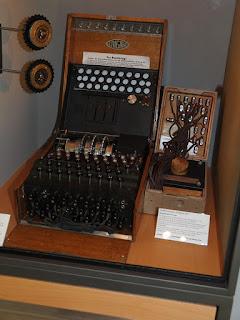 Máquina Enigma original del Museo Heinz Nixdorf