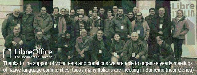 由於志工與捐款的支持,義大利社群得以每年舉辦在地社群的母語(義大利語)會議活動