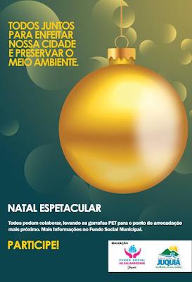 "Juquiá realiza projeto ""Natal Espetacular"""