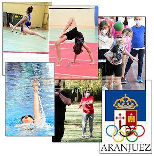 Escuelas Municipales Deportivas Aranjuez Gimnasia Natación Atletismo