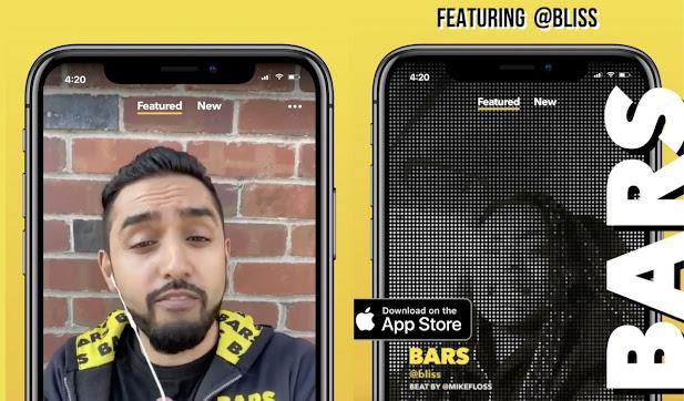 تطبيق Bars من فيسبوك لمنافسة تيك توك في إنشاء موسيقى الراب
