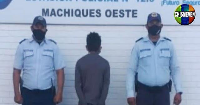 Detenido en Perijá por mostrarle sus cositas a una joven de 14 años