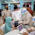 Jelang Ramadhan Imam, Bilal Mubaligh Divaksin Covid-19