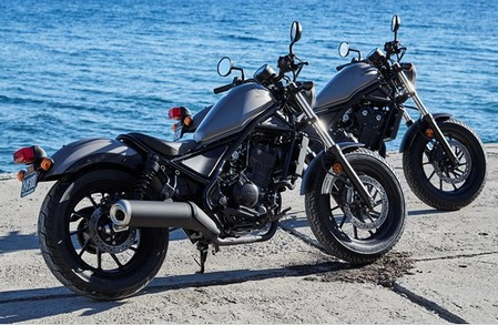 Review Honda Rebel 500