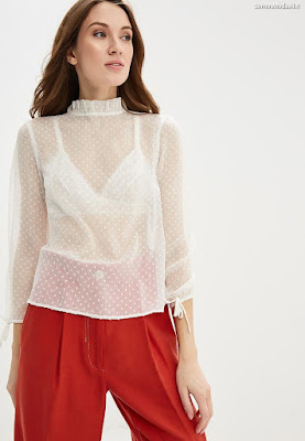 blusas transparentes de moda