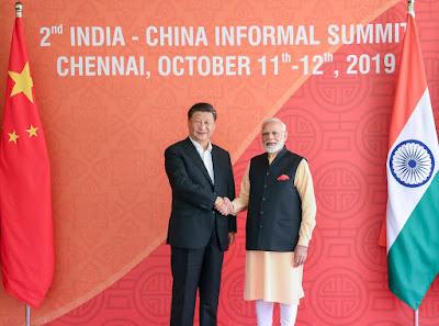 2nd India-China Informal Summit to be held in Chennai