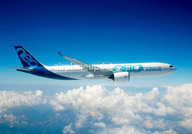 Airbus A330-900 jet