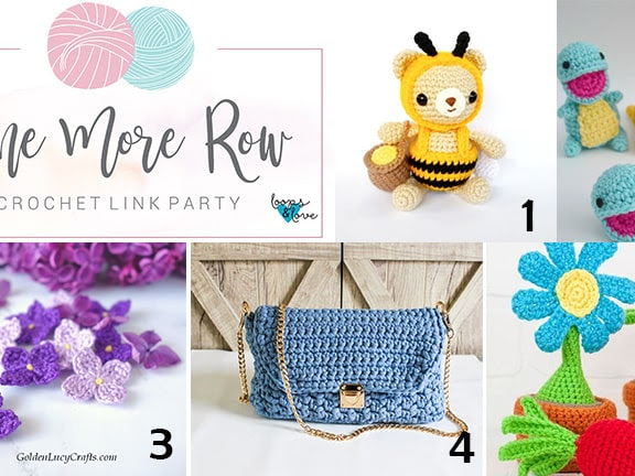 One More Row - Crochet Link Party #7