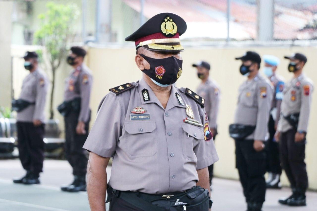 Tak Pernah Melakukan Pelanggaran, Aryo Winarto Naik Pangkat jadi Kompol