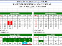 Kalender Pendidikan MTs Cijangkar TP 2021/2022