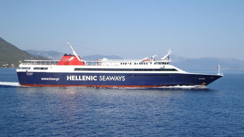 Τα δρομολόγια του πλοίου ΑΡΤΕΜΙΣ στη γραμμή Αλεξανδρούπολη - Σαμοθράκη