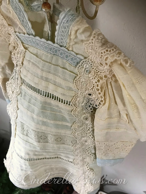French Nostalgia and Tattered Dresses - Talking about the creative process, inspiration, my travels in France, and new artwork in my shop! #marieantoinette #france #creativeprocess #creativity #shabbychic #frenchcountry #frenchcottage #textileart #handsewing