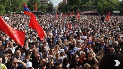 30-40 հազար մարդ է մասնակցել Ռոբերտ Քոչարյանի գլխավորած դաշինքի հավաքին