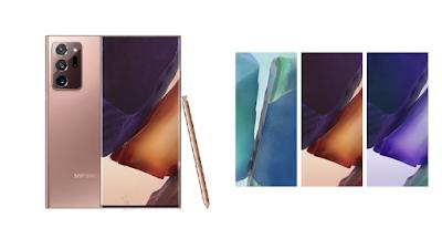 تنزيل خلفيات سامسونج نوت 20 الترا الأصلية official Galaxy Note20 Ultra wallpapers