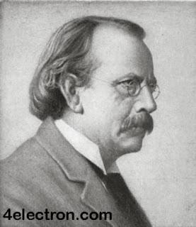 إكتشاف الإلكترون Electron من قبل العالم طومسون ( تومسون ) Thomson