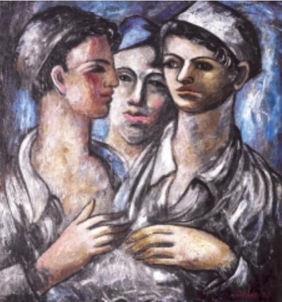 Tres adolescentes, 1937